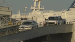 BC Ferries passenger can no longer ride in the lower car deck