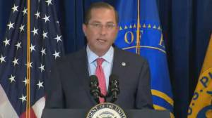 Coronavirus: U.S. health secretary discusses COVID-19 testing for postsecondary institutions
