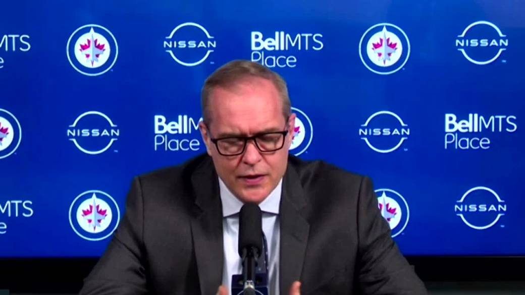 Click to play video: 'RAW: Winnipeg Jets Paul Maurice Interview – May 11'