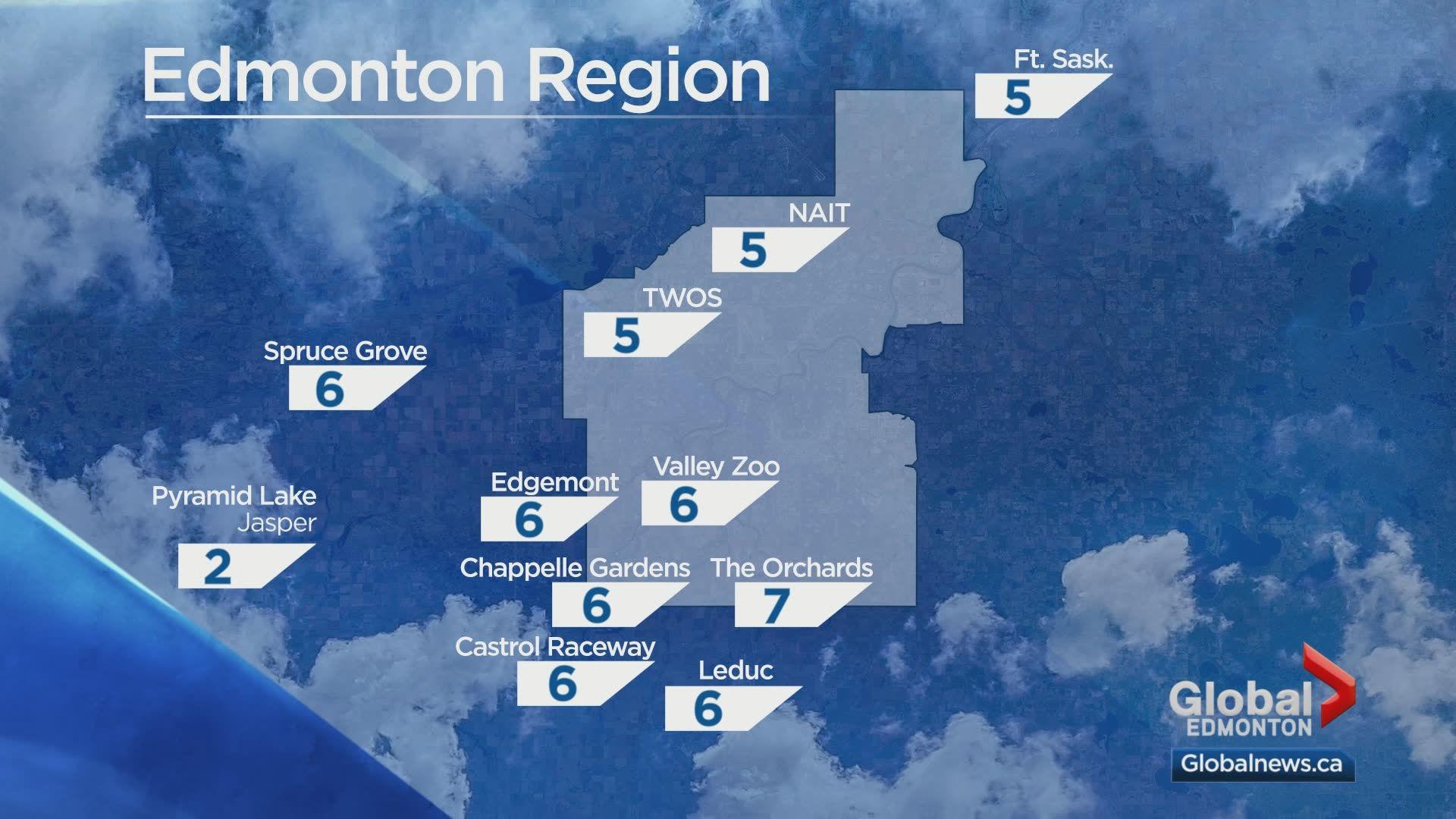 Edmonton weather forecast: Saturday, Oct. 19