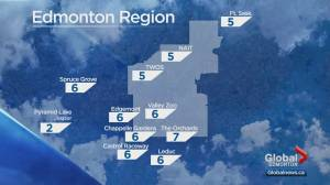 Edmonton weather forecast: Saturday, Oct. 19