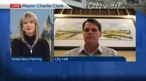 Mayor Charlie Clark on new Covid-19 regulations in Saskatoon