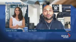 Quebec's gyms reopen their doors
