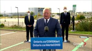 Ontario, feds investing $295 million each to support Ford Motor Company's Oakville, Ont. assembly plant (01:10)