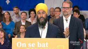 Federal Election 2019: NDP unveils Quebec platform