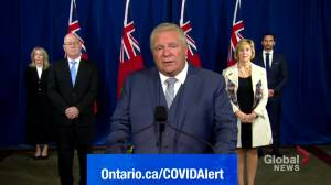 Coronavirus: Ford says he's collaborating with mayors in regions with tighter coronavirus restrictions amid gym shutdowns (01:07)