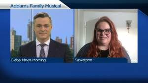 Saskatoon Summer Players plan unique musical of The Addams Family (03:40)