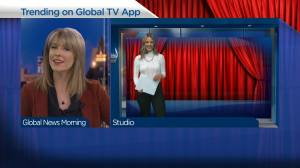 Trending shows on the Global TV app