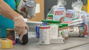 GTA food banks struggling with usage at record levels (02:18)