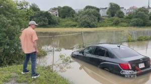 Thunderstorm floods parts of Saint John (01:47)