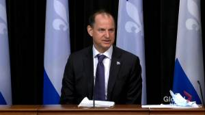 Quebec finance minister disappointed with the federal government's budget (01:51)