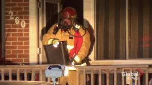 Pets rescued from kitchen fire on Romaine Street in Peterborough (00:49)