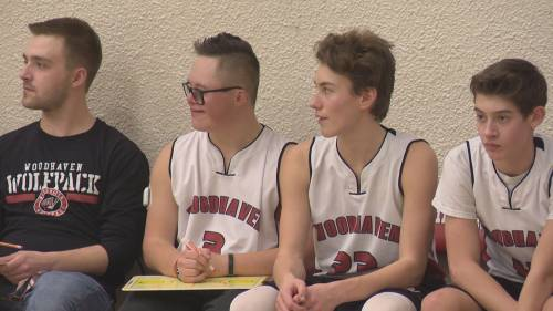 High school basketball player's dreams to play come true | Watch News Videos Online
