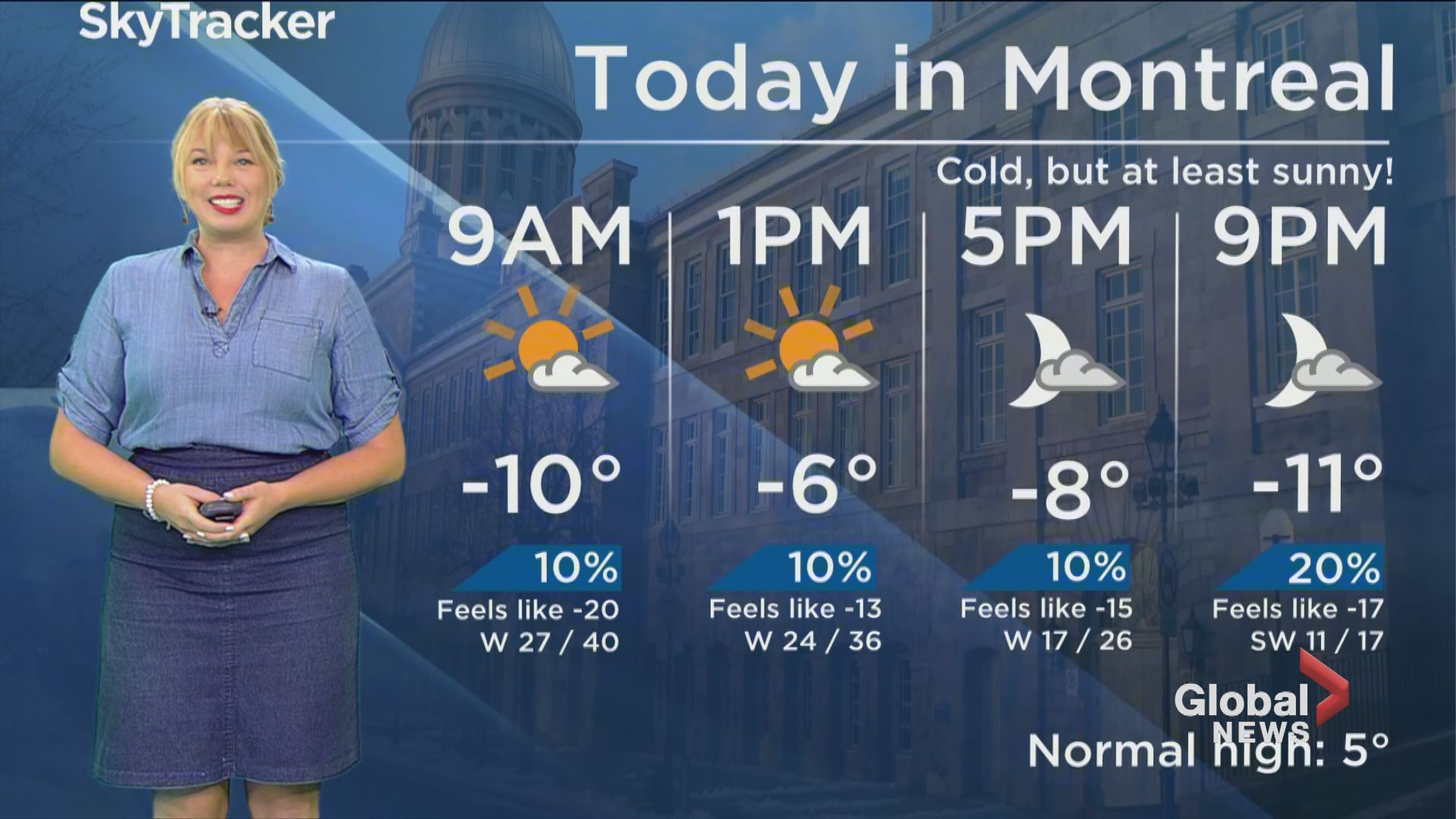 Global News Morning weather forecast: Wednesday November 13, 2019