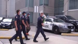 Fallen Toronto police officer honoured in tributes (02:26)