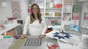How to make quilts with old jerseys and baby clothes (07:37)