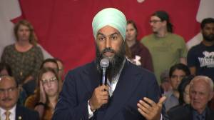 Federal Election 2019: Singh says it's 'horribly sad' people moving to B.C. due to Quebec's Bill 21