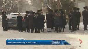 Montreal Jewish community 'embarrassed' by the actions of some of its members as police ramp up presence (01:50)