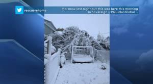 Saskatchewan weather outlook: big blast of winter finishes September