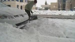 Record-breaking snowfall slams southern Alberta
