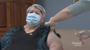Northwood Halifax residents, Sydney hospital staff get first dose of COVID-19 vaccine (02:00)