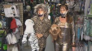 Coronavirus: How to adjust Halloween costumes to accommodate face masks (01:34)