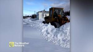 Plows tackle fresh snow in Newfoundland and Labrador after storm