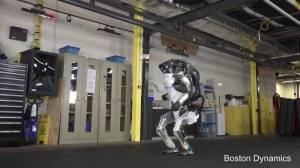 Boston Dynamics' humanoid robot shows off gymnastic routine