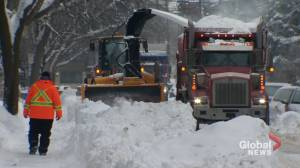 Montreal's mayor warns Covid-19 could create obstacles for snow removal (01:58)