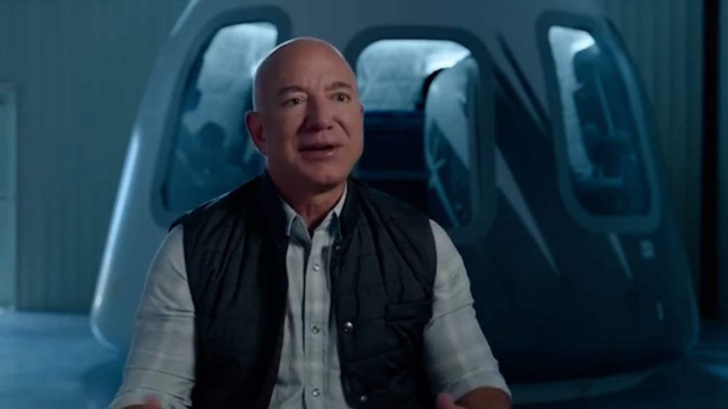 Click to play video: 'Jeff Bezos invites brother to space on first crewed flight of rocket'