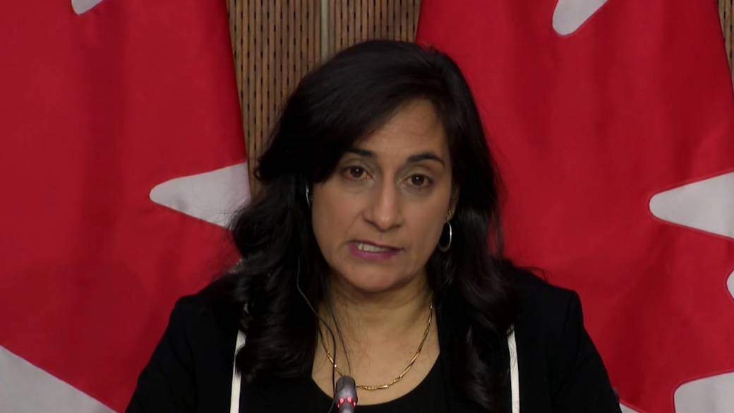 Click to play video 'Coronavirus: Anand says she has 'full confidence' in Health Canada's COVID-19 vaccine approval process'