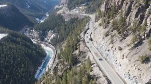 Highway 1 construction closure starts Monday near Golden, B.C. (01:52)