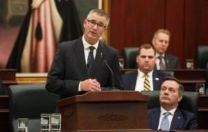Alberta Finance Minister speaks to Calgary Chamber of Commerce (02:41)