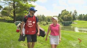 Being a Caddy at the CP Women's Open