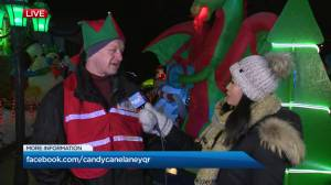 Candy Cane Festival lit up for its 7th season