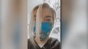 Kingston woman makes homemade masks to help stop the spread of COVID-19