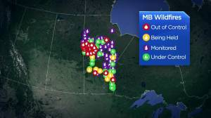 Military launching firefighting assistance campaign against Manitoba wildfires Friday (01:18)
