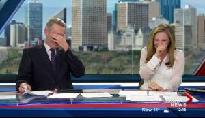 From the archives: Girl's royal encounter has Global anchors cracking up