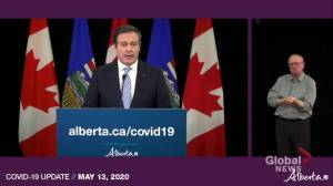 Kenney explains the reasoning behind regional phased relaunch in Brooks and Calgary