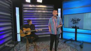 Mathew V performs 'Stay With You'