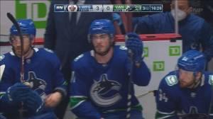 Canucks season remains on hold despite COVID-19 progress (02:07)