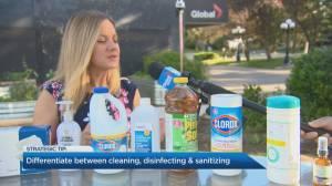 Sanitizing strategies with pharmacist Sherry Torkos (04:30)