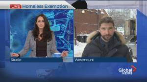 Homeless rights advocates applaud curfew exemption (01:45)