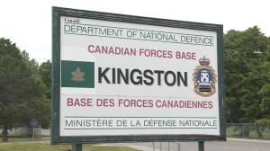 Ordinary Seaman facing two sexual assault charges in court martial trial at CFB Kingston (00:58)