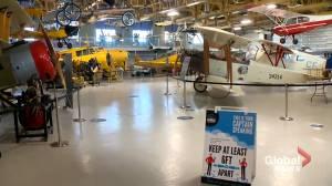 Calgary's Hangar Flight Museum reopens after lengthy shutdown (01:54)