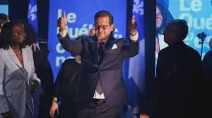Battleground Quebec: Parties clash over province's dozens of key ridings (02:37)