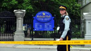 What motivated the Rideau Hall intruder?