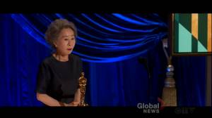 Oscars 2021: Yuh-Jung Youn becomes 1st Korean actor to wins best supporting actress (00:39)