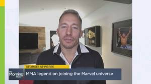 Georges St. Pierre on his role in 'The Falcon and The Winter Soldier' (03:42)