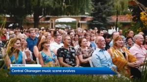 Central Okanagan music scene evolves (02:07)